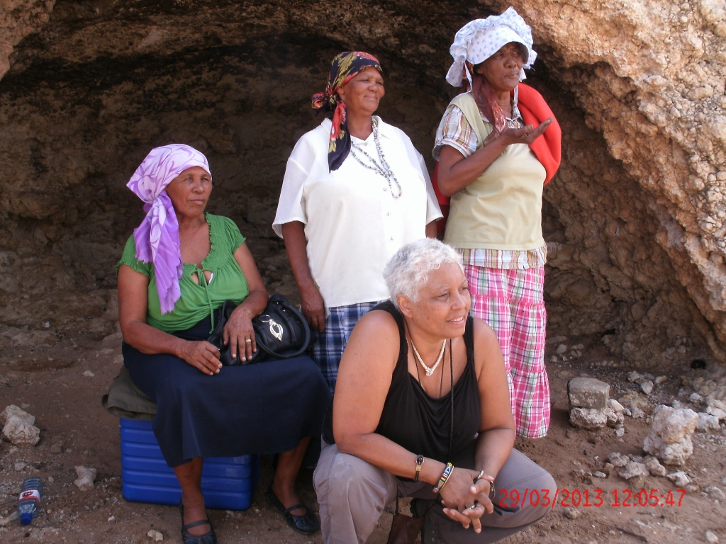 With the grandmothers in the Kalahari